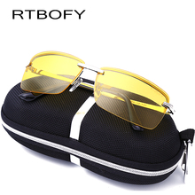 RTBOFY 2017 New Fashion Alloy Men's Sunglasses Are Designed to Protect Them From Uv Rays Lens Attribute is Polarized
