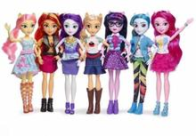 new Toys Rainbow Dash Twilight PVC Action Figures Classic Style Collection Dolls for girl Christmas gifts