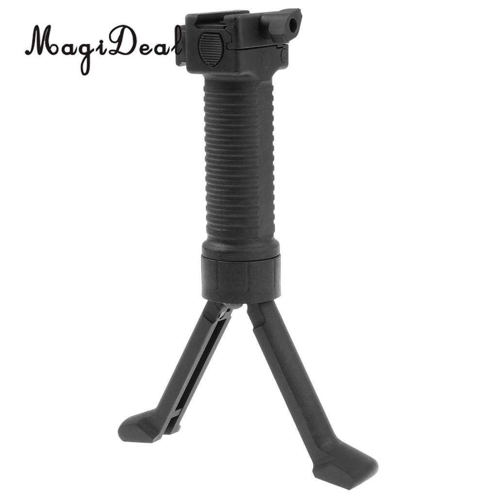 MagiDeal Tactical Gel Ball Water Pistol Y Type Front Grip Stand Holder for Jinming Scar Replacement