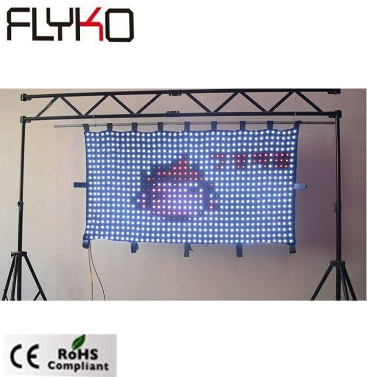 P50mm dj éclairage en vente 3ft x 6ft projecteur full hd haute résolution dmx led rideau - 2