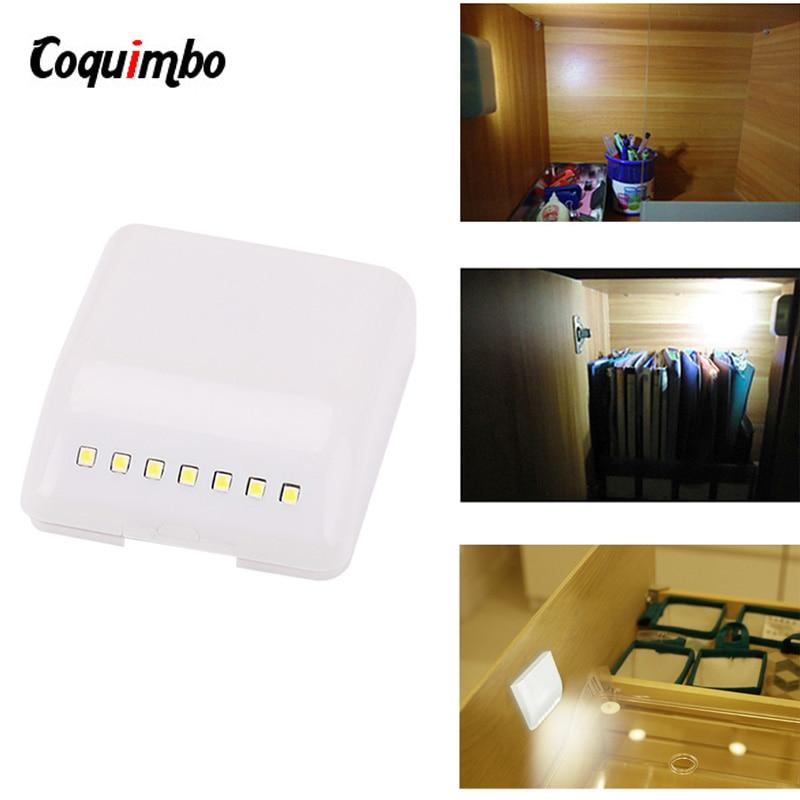 Universal 0.25W Inner Cabinet Hinge 7 LED Sensor LED Light For Kitchen Bedroom Living Room Cabinet Cupboard Wardrobe Light
