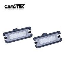 CARLitek номерной знак свет автомобиль стиль супер светодиодные Белые номерные знаки 12 В без ошибок для Ford Mustang