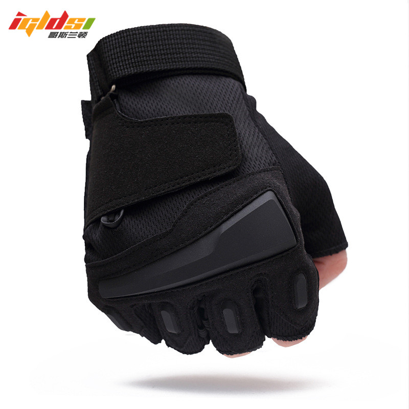 Usa Special Forces Tactical Gloves Slip Outdoor Half Finger Guantes Army Gym Combat Men Fighting Fingerless Gloves M L XL