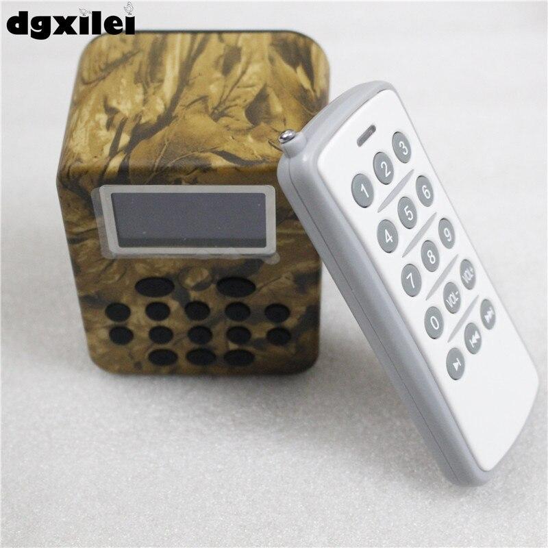 Dc 12V Remote Control 50W Duck Call Mp3 Sounds Hunting Bird Caller For Hunting dc 12v remote control 50w bird hunting device for hunting