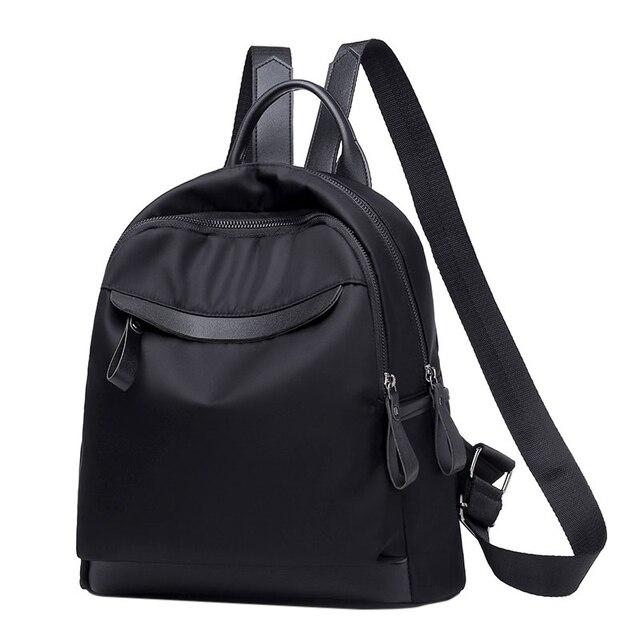 THINKTHENDO Small Nylon Backpack Purse for Women Girls Fashion Daypack  Waterproof 5eb13aa6973ce