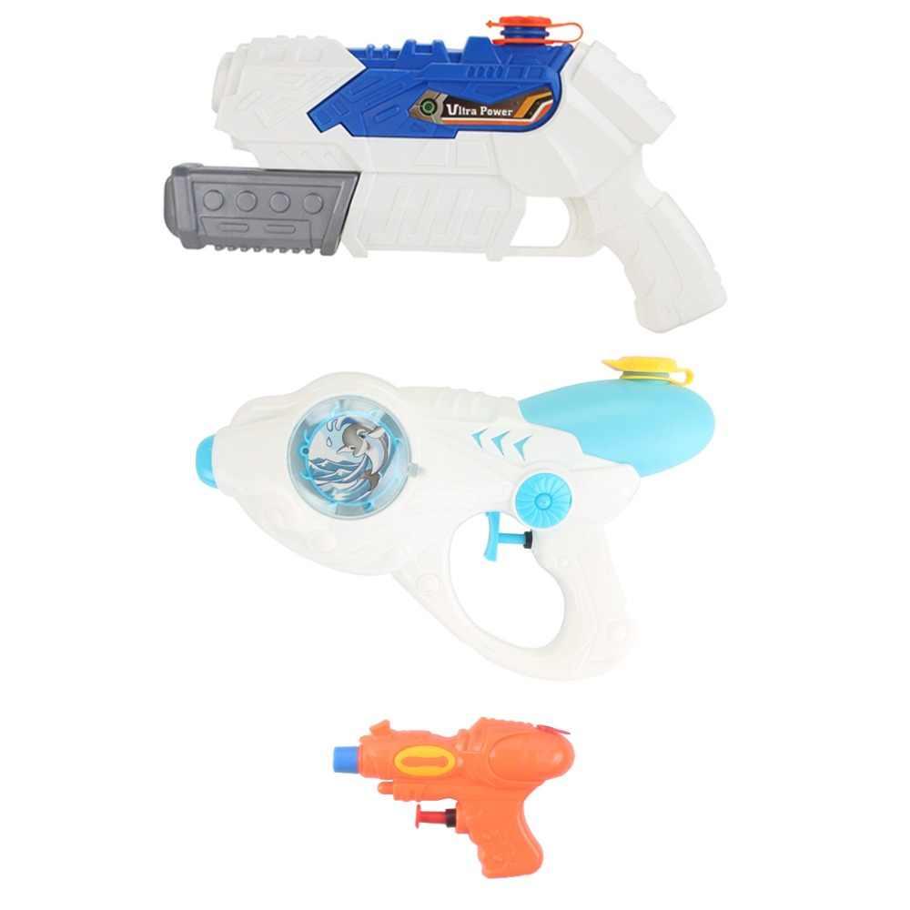 Водяной пистолет, мигающий светильник, летняя игрушка для детей, взрослых, впрыск, пистолет, бластер в баке, бассейн, ванна, вечерние игрушки, для улицы, для помещений