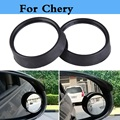 Car Side Wide Angle Round Convex Dead Zone Rearview Mirror For Chery Amulet Arrizo 7 Bonus CrossEastar Eastar Fora IndiS Kimo