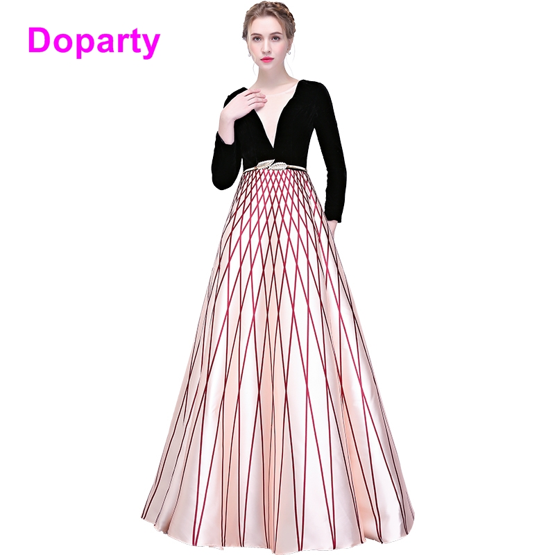 Doparty 2018 new women satin wedding party formal elegant prom evening dress mother of the bride dresses for weddings long 2018