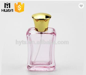 Wholesale Transparent Pink 50ml Perfume Bottles