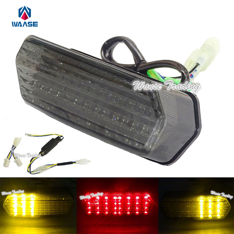 waase E-Marked Tail Brake Turn Signals Integrated Led Light with Splitter Harness Smoke For 2013-2016 HONDA Grom MSX 125 MSX125 free shipping for epson l800 t50 r290 t60 p50 printer head for epson f180000 original head page 3