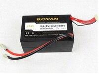 Li Fe батареи 8000 мАч 7 s для 1/5 Baja Газе для электрических щеток Двигатель Baja для 1/5 HPI Rovan км E Baja 5B 5 т части