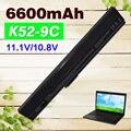 6600 мАч аккумулятор для ноутбука Asus A31-B53 A32-K52 A31-K52 A41-K52 A42-K52 K52L681 A42f A42j A52J A52f A52D F85 F86 K42 K52J K42J