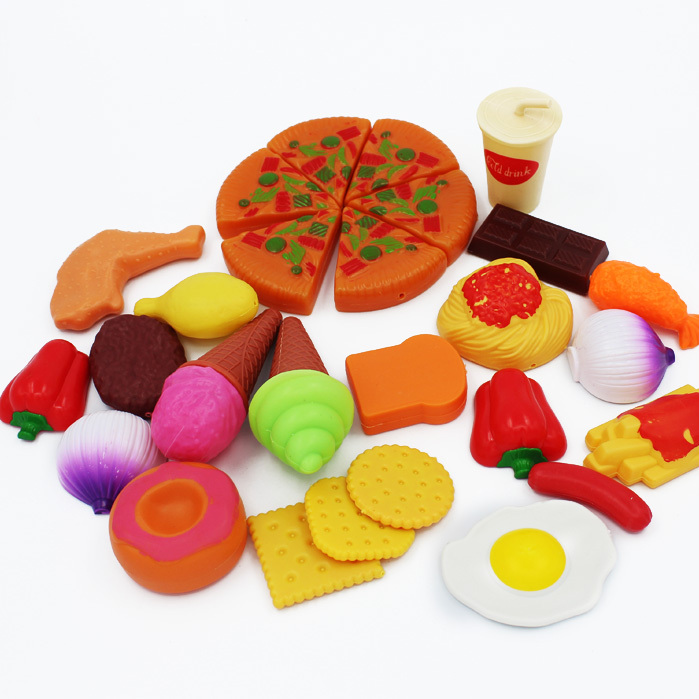 Childrens Toy Kitchen Remodelers Pretend Play Onion Food Spaghetti Kids Bread ...