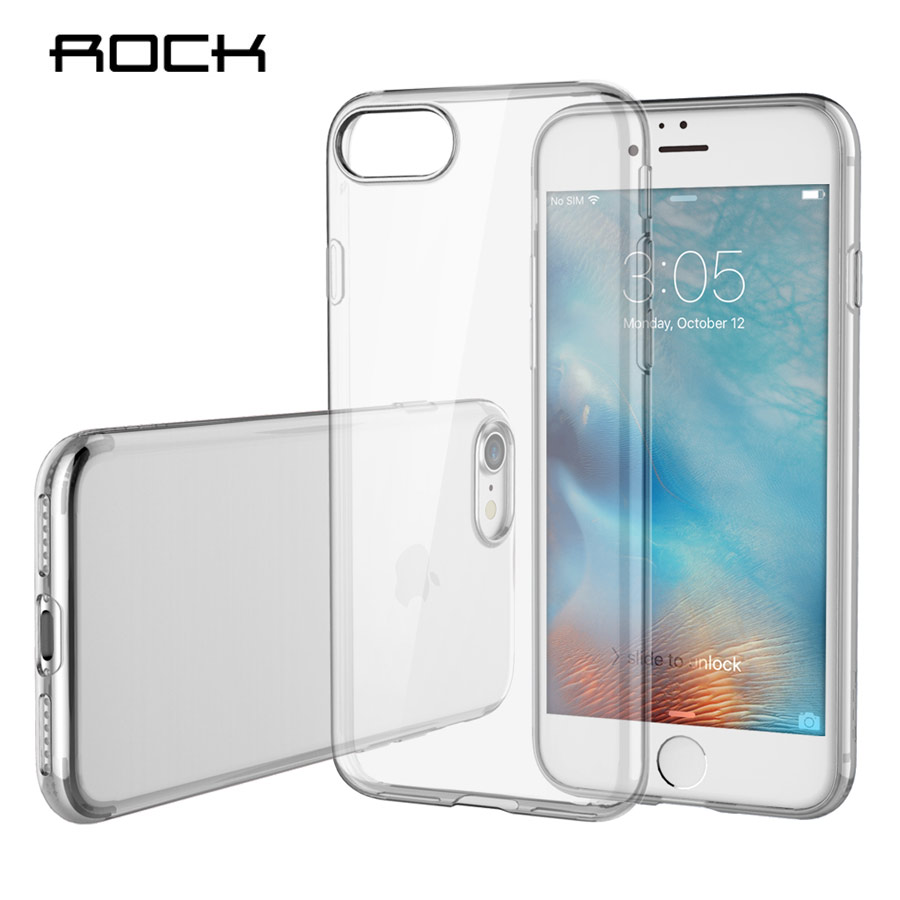 Funda Silicona Trasera Transparente iPhone 7 Plus