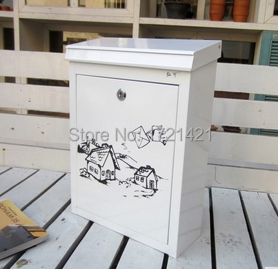 Coloured drawing or pattern high quality vintage newspaper mailboxes coloured drawing or pattern high quality vintage newspaper mailboxes post box letter box fashion mailbox xx06 spiritdancerdesigns Gallery