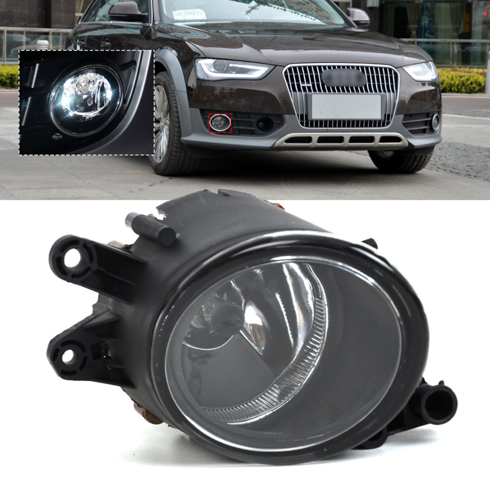 beler Black Front Right Fog Light Lamp for Audi A4 B7 Quattro 2001 2002 2003 2004 2005 2006 2007 2008 8E0941700B mzorange for toyota prado 120 2700 4000 for land cruiser lc120 2002 2003 2004 2005 2006 2007 2008 2009 front fog light fog lamp