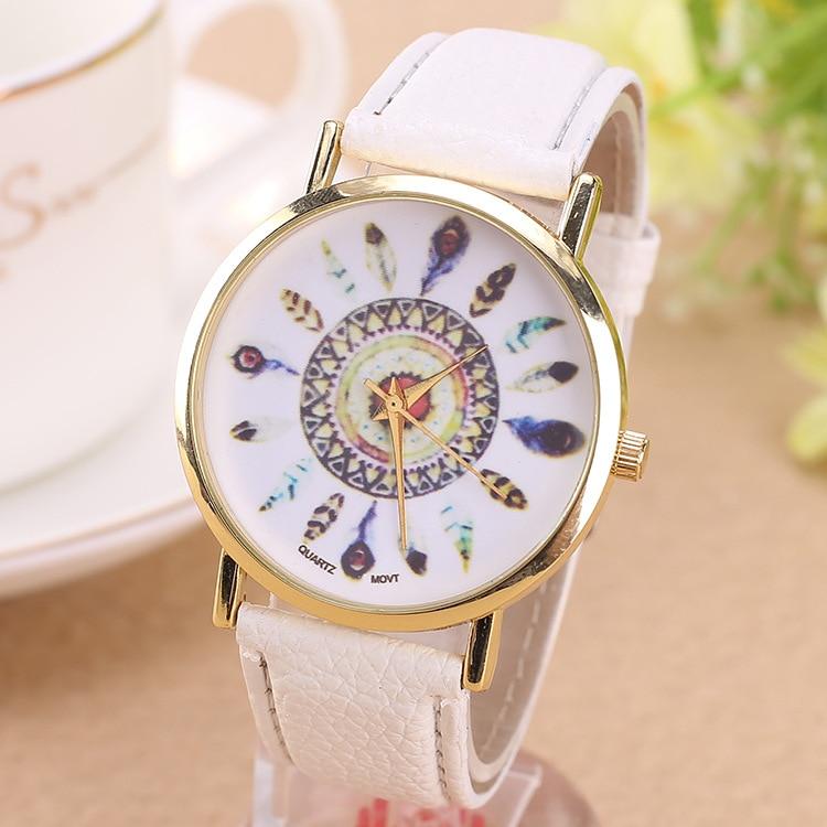 лучшая цена watch Leather Casual watch women dress female dropshipping watch fashion Quartz Business Watches