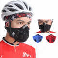 Activated Carbon Dust Face Mask Outdoor Sports for Men and Women Bicycle/Motorcycle Face Protection Winter Mouth Mask