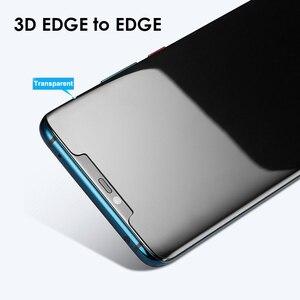 Image 4 - Akcoo UV กระจกนิรภัยสำหรับ P30 Pro Full กาวฟิล์ม HUAWEI Mate 20 Pro กระจกหน้าจอ protector