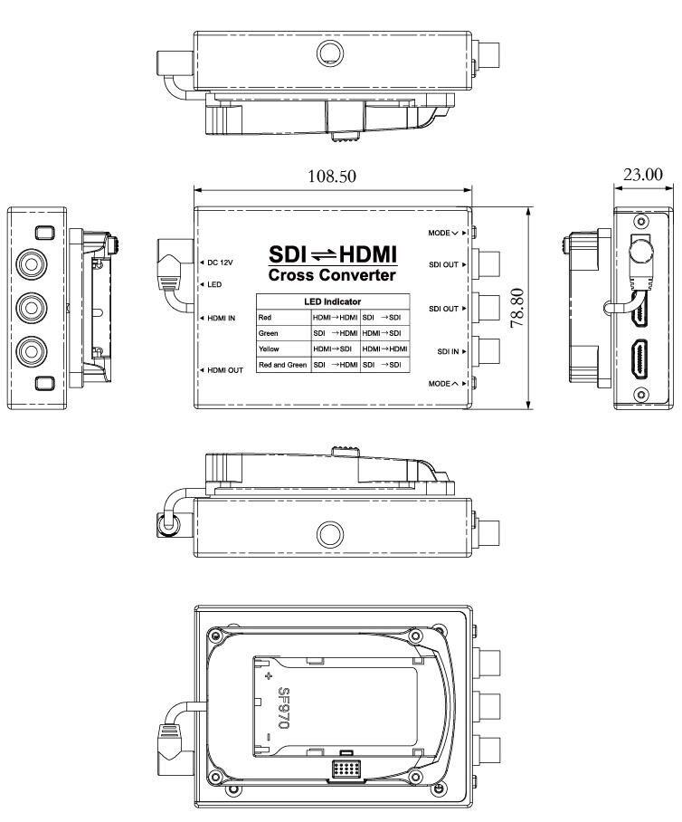 SCH size