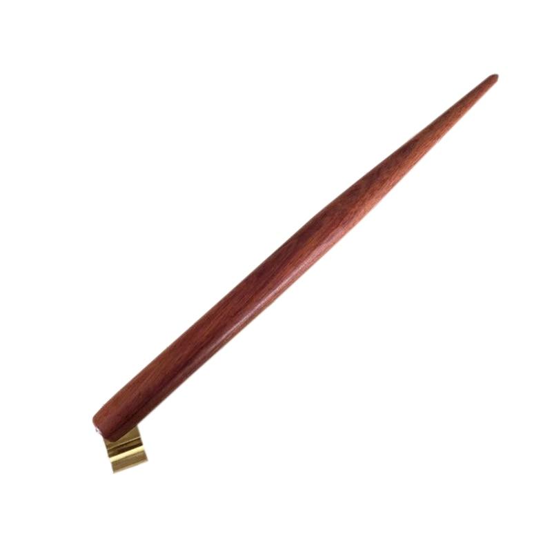 Handmade Solid Wood Copperplate Script Oblique Dip Pen Nib Holder Best Gift English Calligraphy Dip Pen