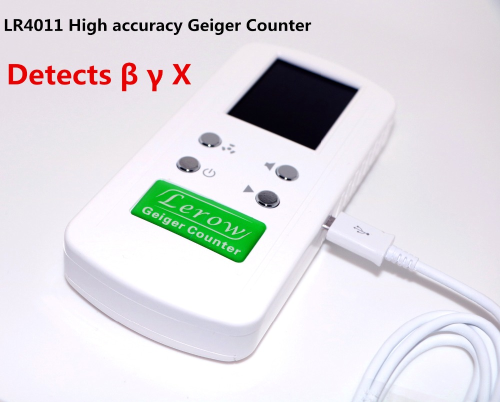 LR4011 High accuracy Geiger Counter Nuclear Radiation Detector Personal Dosimeters Detects Combined Beta Gamma X-Ra
