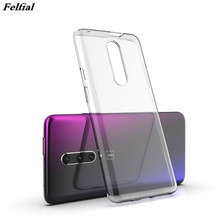 NEW Transparent TPU for OnePlus 7 / 7 Pro Case Cover Ultrathin Soft Silicone Edge Protective Back Cover Phone Cases One Plus 7