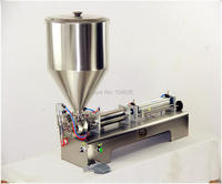 Single Head 100 1000ML shampoo lotion cream honey juice sauce jam gel filler paste filling machine, pneumatic piston filler