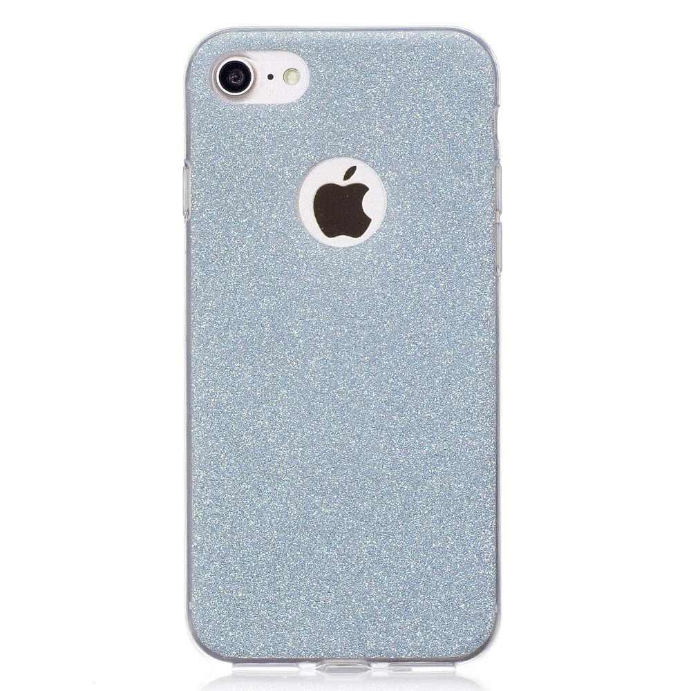 Cubierta de la caja para iphone 6 6s 5 5S Secase brillante Funda Capas para iphone 7 Plus X XS X Max XR 7 8 Plus 7 7 Plus 6S 6 carcasa
