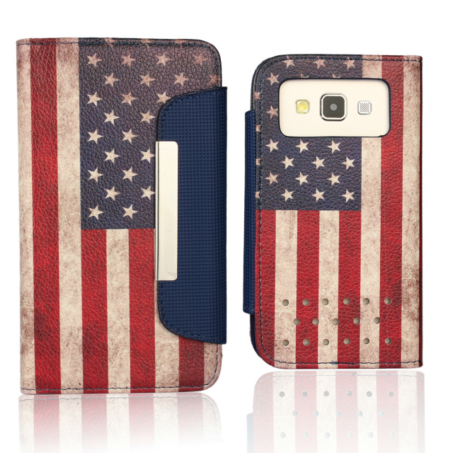 american flag leather case cover for samsung galaxy a3 a300 a3000