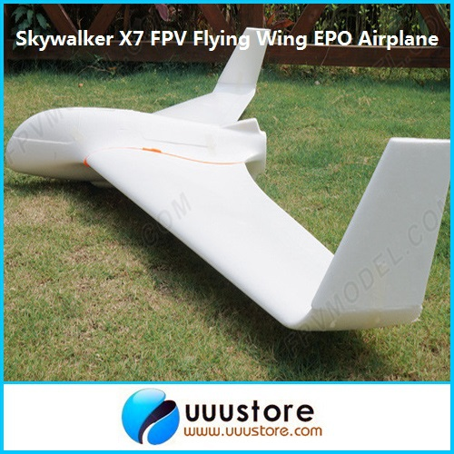 FPV Skywalker x7 white flying wing 1.9 meters 12 x-7 fpv epo large wings airplane skywalker fpv x uav talon uav 1720mm fpv plane gray white version flying glider epo modle rc model airplane