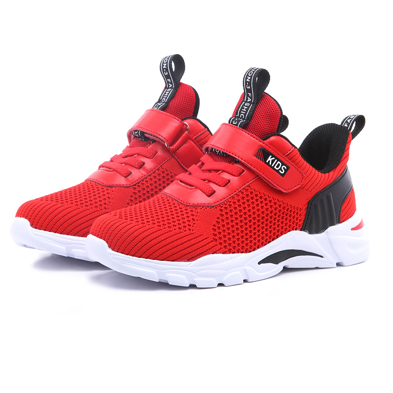 ULKNN Boys sneakers children 39 s basketball shoes white mesh breathable running hollow pupils 8 boys 9 small Kids sports shoes in Sneakers from Mother amp Kids