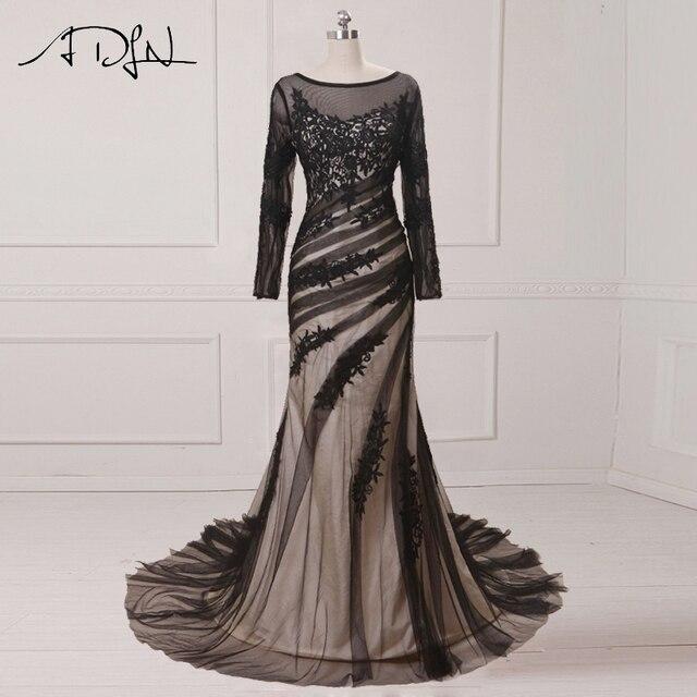 Aliexpress.com : Buy ADLN Best Selling Mermaid Evening Dresses Scoop ...
