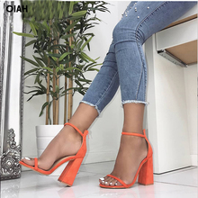 Women Pumps Fashion Heels Sandals For Women Summer Shoes Wedding Heels Women Buckle Strap High Heels Size 36-41