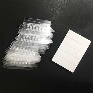 25Pcs/Set Transparent Tag Clip Indexes Holder for Hanging Folders