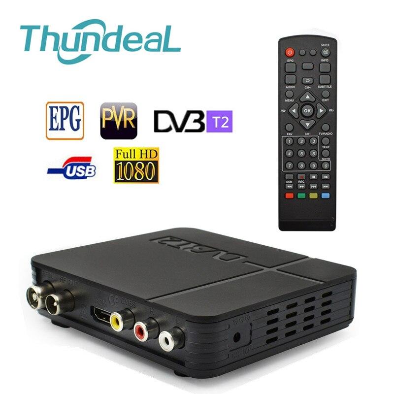 Multimedia-Player Set-Top-Box Tv-Receiver DVB-T2 MPEG4 Digital H.264 HD Audio-Conversion