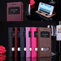 Caso Coque For IPhone 6s 4 7 Inch Deluxe Genuine Leather Case Smart View Window For