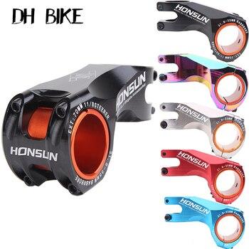 Bike stem 31.8-35mm 70mm HONSUN CNC Ultralight MTB Road Bike Stem 17 Degree Aolly XC MTB Handlebar Stem Bike Accessories Bicycl