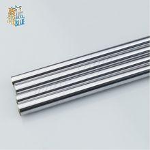 Trilho eixo óptico 300 320 330 350 390mm, hastes suaves 8mm 10mm, eixo linear 3d peças da impressora cromada guia deslizante