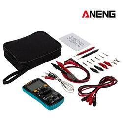 ANENG AN8002 cyfrowy multimetr AC/napięcie prądu stałego Ohm miernik prądu 6000 zlicza AAA Profesional tranzystor kondensator miernik rezystancji