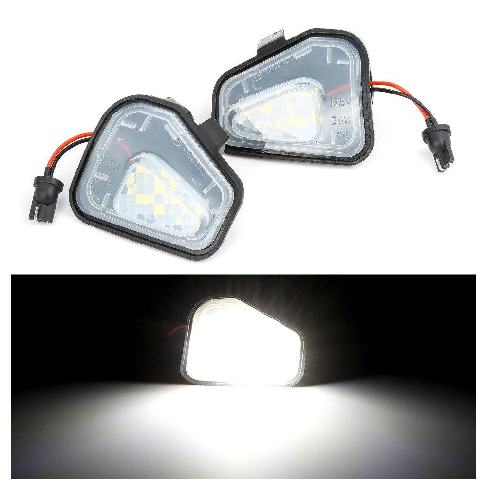 2X LED indicador de espejo de luz dinámica de Señal de Vuelta para VW Passat B7 Scirocco Eos