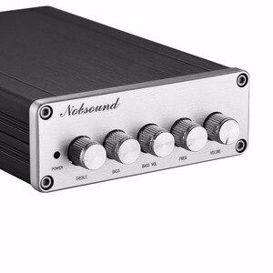 Image 2 - Цифровой усилитель мощности Douk Audio Mini, 2,1 каналов, TPA3116, Hi Fi стерео аудио усилитель басов, сабвуфер 2 × 50 Вт + 100 Вт