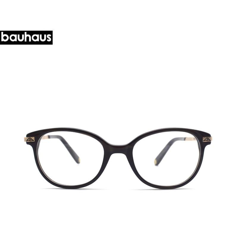 bauhaus 2018 Round Fashion Brand Eyeglasses Full Frame Glasses ...
