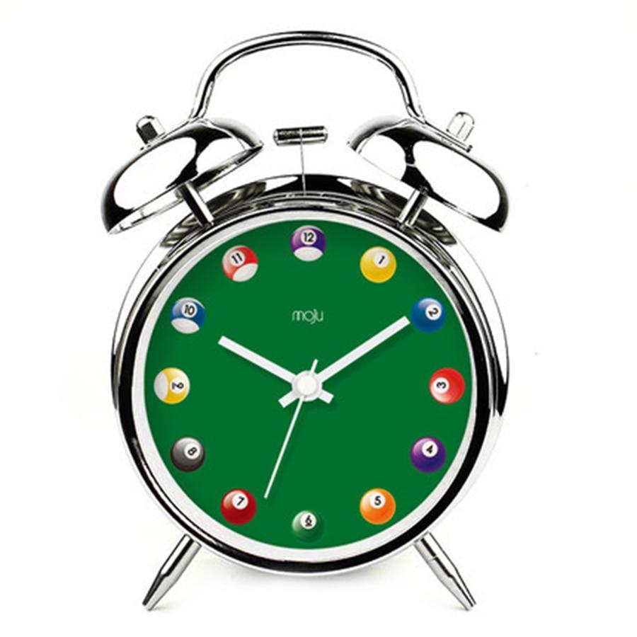 Kids Bell Alarm Creative Clock Snooze Home Decor Mechanical Alarms Electronic Desk Bedside Clocks Masa Saati Table Watch 50A0119