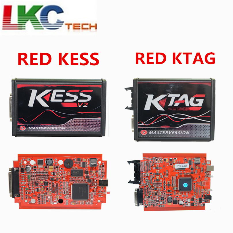 цена на Online V2.47 ECU RED KESS V2 V5.017 No Tokens Chip Tuning EU Master Online KESS V2 5.017 Manager Tuning Kit For Car /Truck