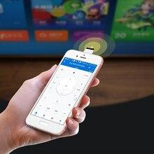 Dispositivos IR universales 2020, controlador remoto inalámbrico por infrarrojos, adaptador para teléfono inteligente OTG (micro USB y Puerto tipo c)