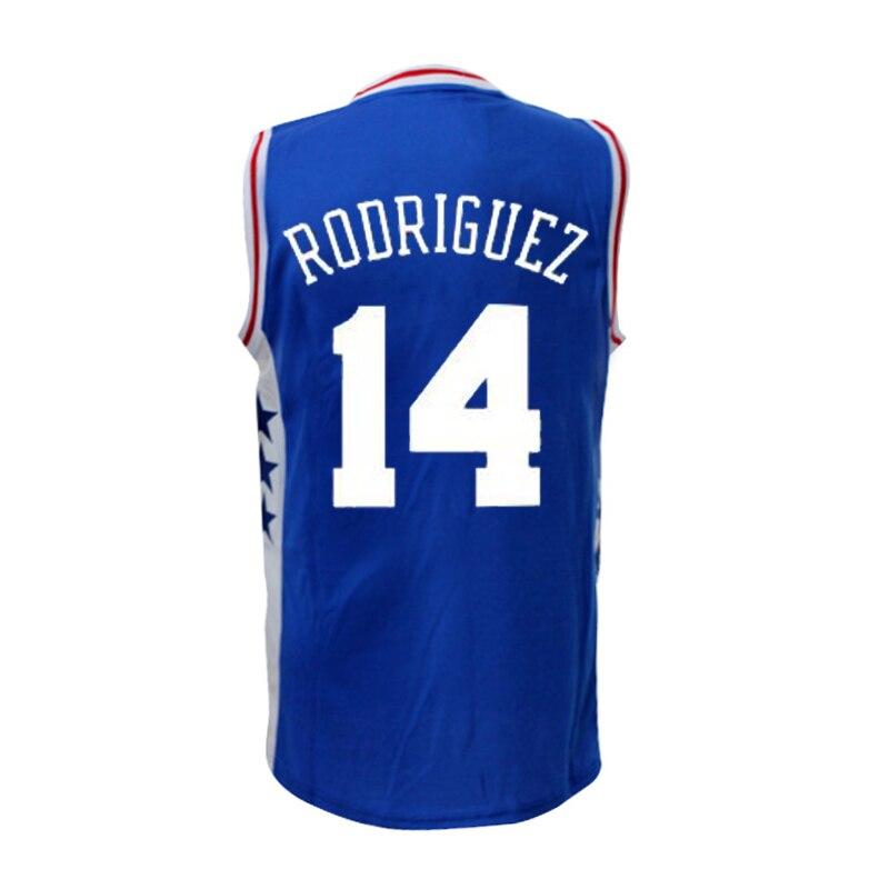 3c55d3070 ... 2016 new 14 Sergio Rodriguez Basketball jersey Re. ... mens sergio  rodriguez philadelphia 76ers adidas ...