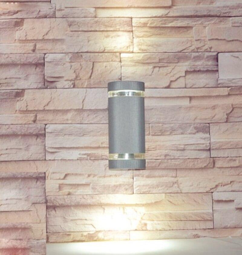 Led Outdoor-wandlampe Led Wasserdicht Moderne Wandleuchte Montiert 2x3 Watt 220 V Ip65 Wandleuchte Outdoor Veranda Beleuchtung Garten Licht Up Down Licht Zbd0101 Neueste Technik