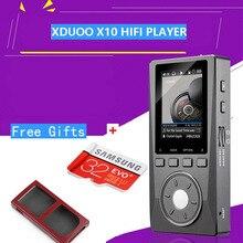XDuoo X10 Portátil de Alta Resolución Sin Pérdidas DSD Música HIFI DAP Soporta Salida Óptica Betterthan XDUOO X3 + Free (TF + estuche)