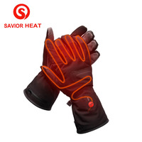 SAVIOR 7.4V/2200MAH Electric Heating Gloves Hunting Fishing Winter Riding Ski Motorcycle Lithium Battery Self Heated Gloves